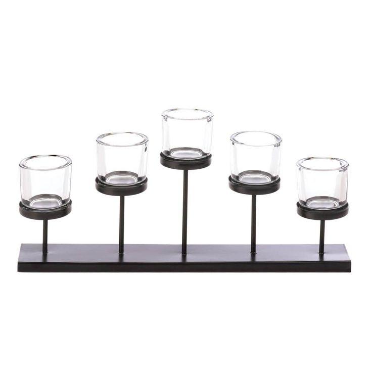 Pedestal Candle Centerpiece Holder Table Mantel Metal Decoration Light Relax #GalleryofLight