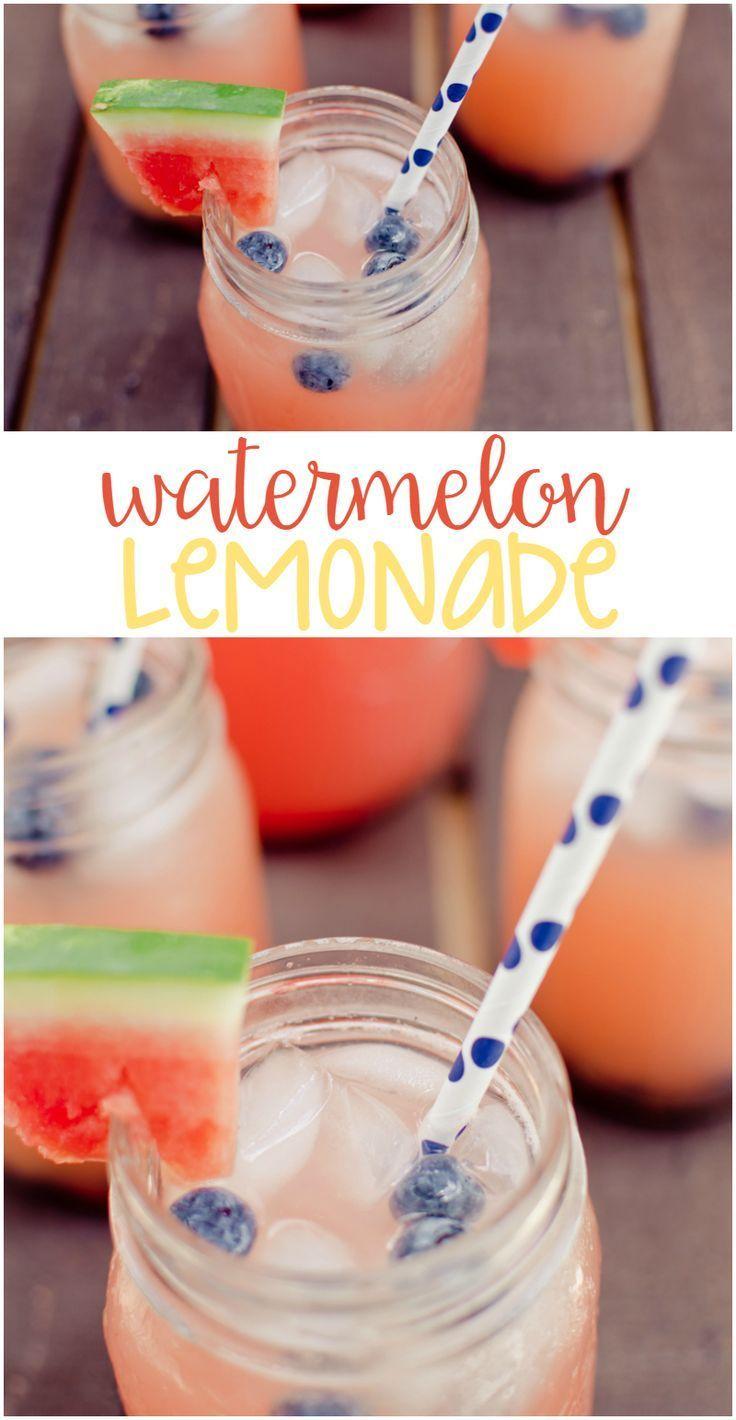 Sweeten up your summer with Watermelon Lemonade!