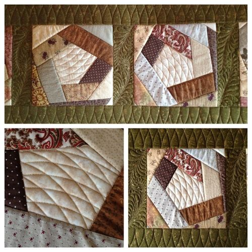 """Seven months ago, I was pleasantly surprised to learn I could do free motion quilting """"ruler work"""" with my Janome domestic sewing machine. So, I purchased Janome's Convertible Free Motion Quilting..."""