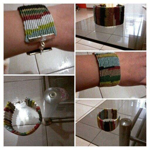 Multicolor macrame bracelet