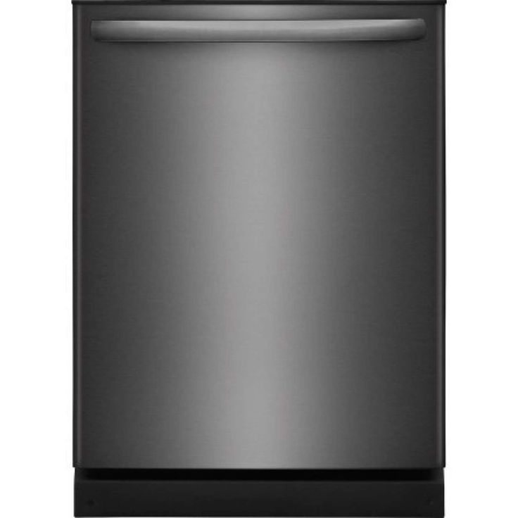"""24"""" Black Stainless Steel Fully Integrated Dishwasher - Energy Star"""