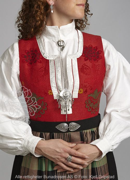 Image result for nordmørsbunad vest