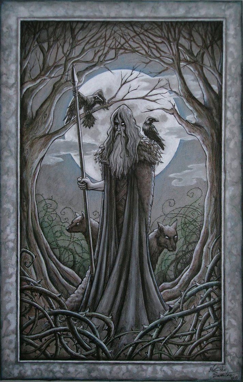 Odin by TheEndOfGrey on DeviantArt