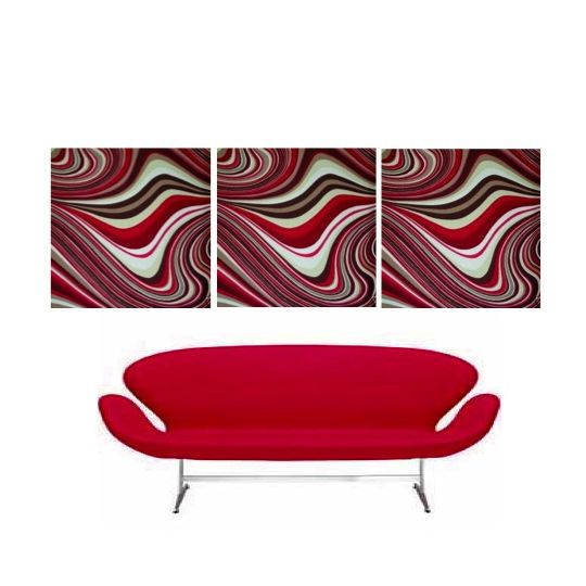Just love this wave swirl retro Wall Art Hanging.  Extremely Retro, funky, cool, soft furnishings fabric stretched over quality canvas ready to hang in your home, cafe, apartment & office.  Available now at www.retrohomefabrics.com.au