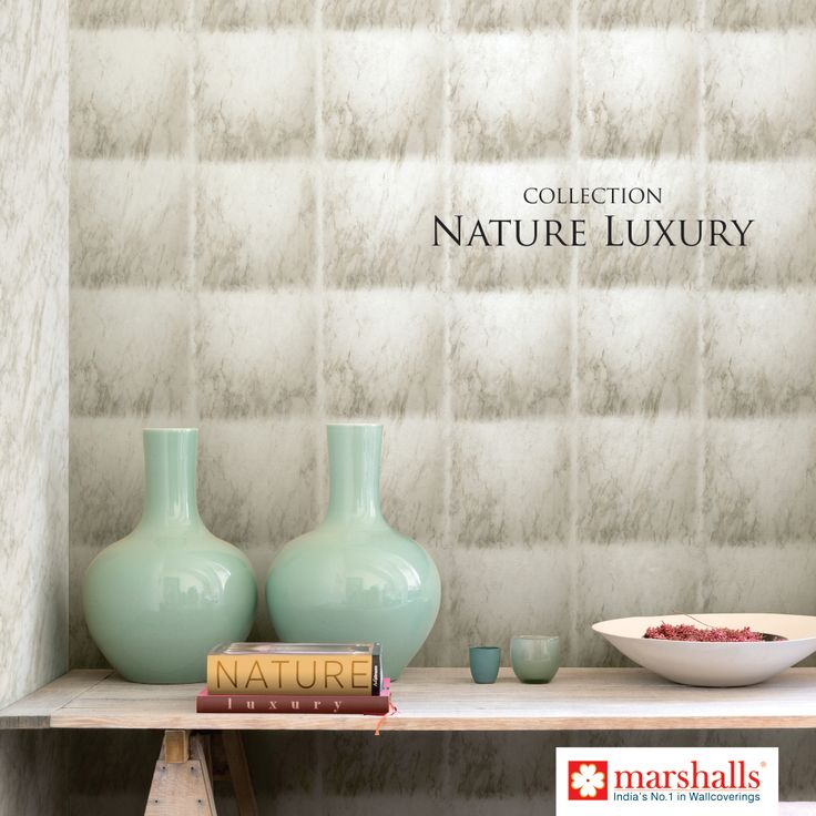 Give your #Walls a striking look with our #NatureLuxury collection!! Explore more @ www.marshallswallcoverings.com #OnlyWithMarshalls #DesignWalaColour #DesignerWalls #Wallpaper #HomeDecor #Wallcoverings #Interiors