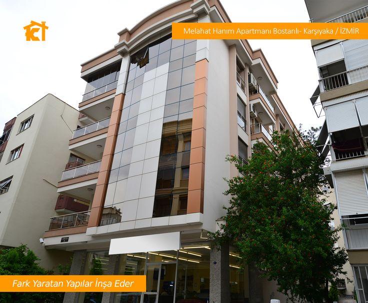 Melahat Hanım Apartmanı Bostanlı - Karşıyaka / İZMİR #kilicogluinsaat #kilicogluyapi #izmirinsaatproje