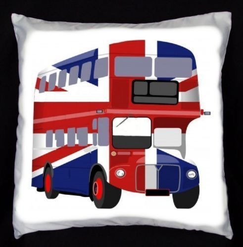 Union Jack Bus DIY Cushion Cover SPECIAL OFFER