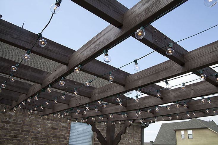 Hanging up string lights adds to the festive ambiance. #Hunterventions Pinterest Hunter ...