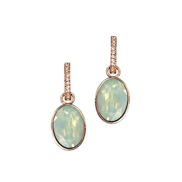 Eponine earrings Pacific opal