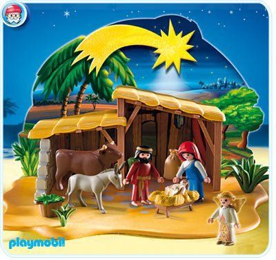 $26.99 Playmobil Nativity Scene With Stable  From PLAYMOBIL®   Get it here: http://astore.amazon.com/toys4kids09-20/detail/B005IW8I1I/186-4678595-8875665