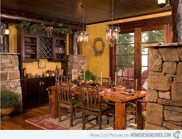 I like this dining room small intimate but has room to grow for when family comes home.