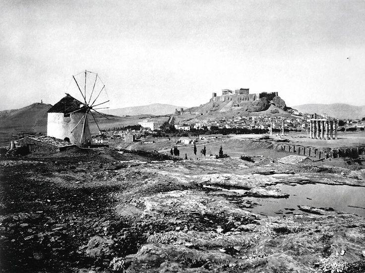 Περιοχή Μετς το 1869, Αθηνα