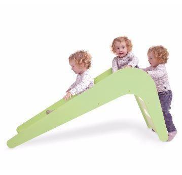 Children's slide - Green owl