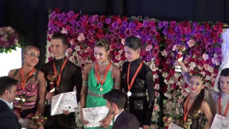 MARIA SI COSMIN*Premieri Open International Junior II Latino Bacau 2017*...