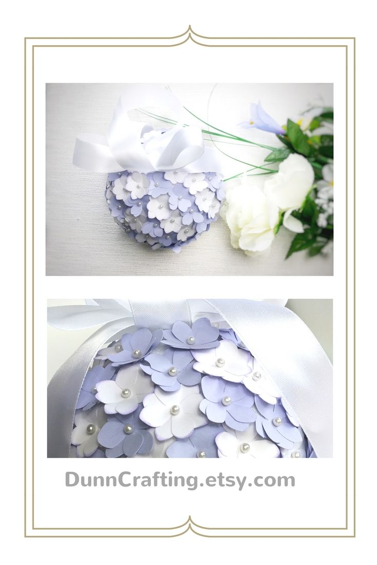 Lilac and white paper hydrangea pomanders - perfect for bridesmaids and flowergirls, and for your aisle decor. Click through to my shop and contact me for your own custom order. #bridesmaid #weddings #aisledecor #flowergirl