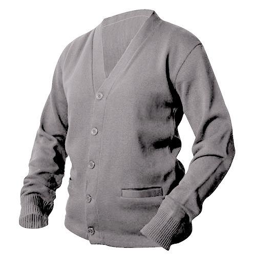 Heather Grey Letterman Sweater - Mount Olympus Awards Varsity Sweaters