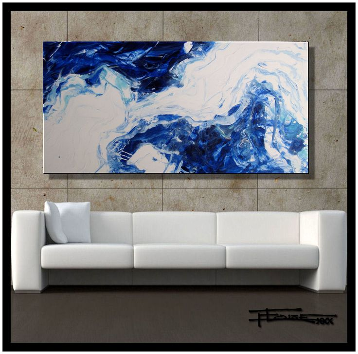 Original Painting, Abstract Modern Fine Art, Ready To Hang, FORCES OF  NATURE By