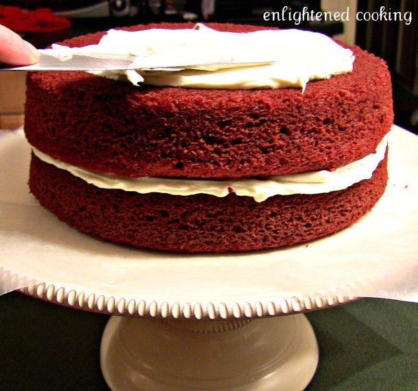 Vegan Red Velvet Cake (non-dairy milk)