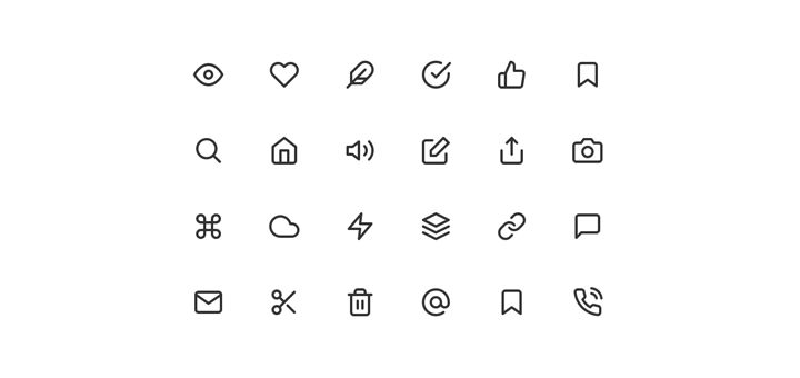 L❤️ve these| Feather Icons — 200+ Free & Open Source Icons • Beautiful Pixels https://beautifulpixels.com/goodies/feather-icons-200-free-open-source-icons/?utm_campaign=crowdfire&utm_content=crowdfire&utm_medium=social&utm_source=pinterest