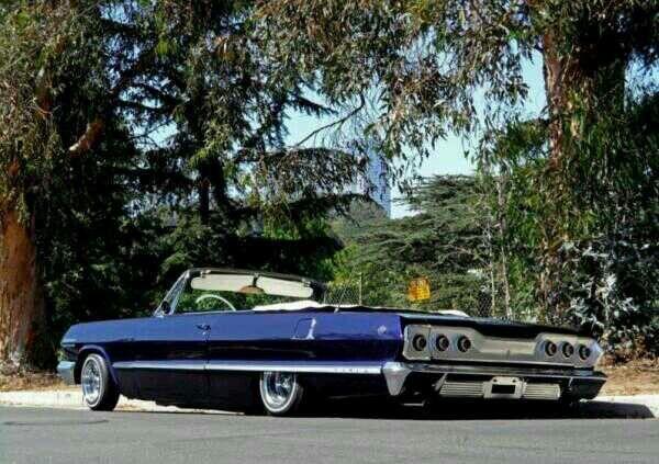 1963 Chevy Impala convertible.