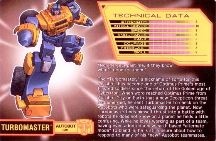 Transformers Bio Card Database: Botcon & TFCC