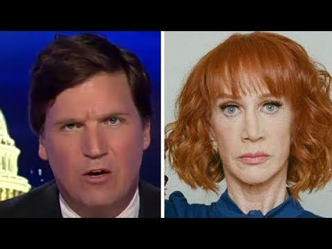 """This Isn't Funny!"" Tucker GOES OFF on Kathy Griffin, CNN, and Liberal ""Comedians"" - YouTube"