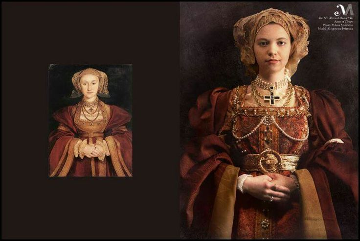 The six wives of King Henry VIII back to life : Anne of Cleves. Photography: Milena Murawska, model: Małgorzata Świerszcz