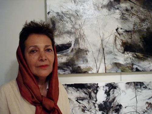 Ate the age of 68, after a long period of dealing with cancer, she died in Jam hospital in Tehran.  Education: B.A. from the Academy of Decorative Arts, Vienna, Austria.