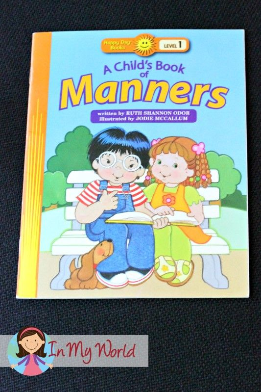 Sunday School Rules Book of Manners
