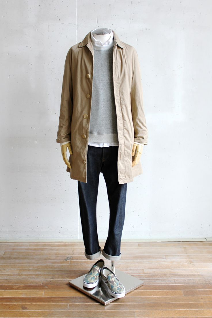 Suggestion of The Men's Spring Coat Style