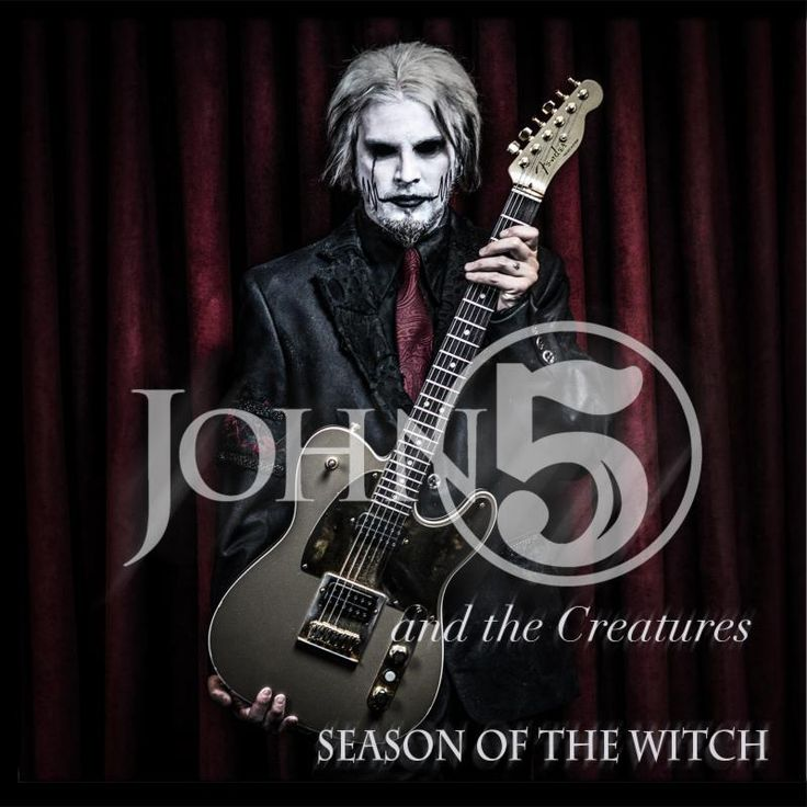 World-Renowned+Guitarist+John+5+Reveals+'Season+Of+The+Witch'+Full+Track+Listing