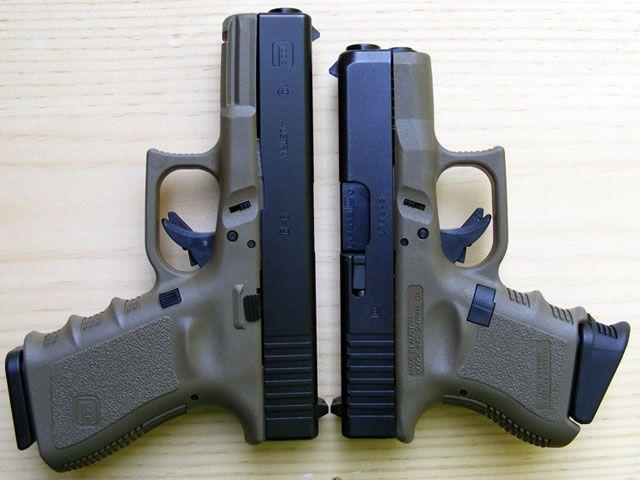 Glock 19   Glock 26