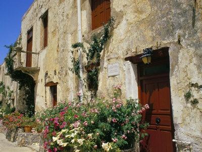 Mono Preveli Monastery, Near Plakias, Island of Crete, Greece, Mediterranean