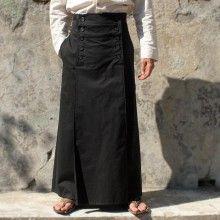 Jupe masculine Hiatus, modèle Kendo. Hiatus Kendo menskirt. Mots-clés : Jupe pour homme, Jupe masculine