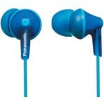 Check out these Blue Panasonic ErgoFit RP-HJE125 headphones. They are really affordable and sound great for their reasonable price. They also offer a comfortable fit and a wide variety of color. You'll be hard-pressed to find in-ear headphones that sound amazing and very comfortable.