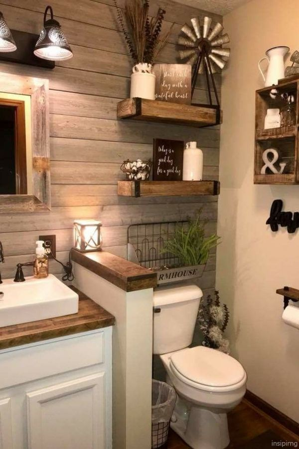 Clever Farmhouse Bathroom Decorating Ideas Picture Bathroom Decor Diy Bathroom Remodel Minimalist Bathroom
