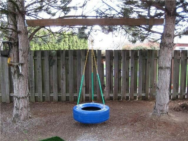 Just when we were looking to buy a swing set. We have 2 ...