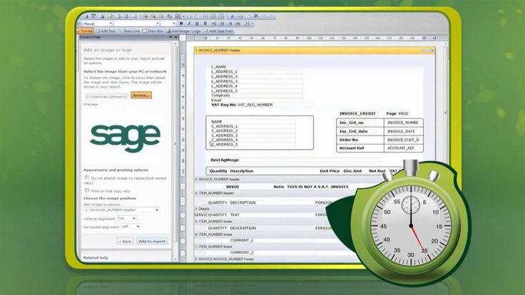 Create a branded invoice in 60 seconds with Sage Instant Accounts 2013