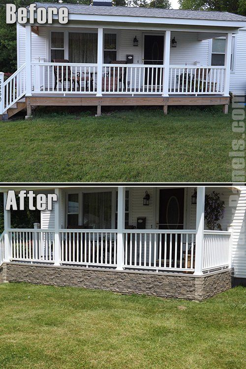Best 25 deck skirting ideas on pinterest for Top deck mobel