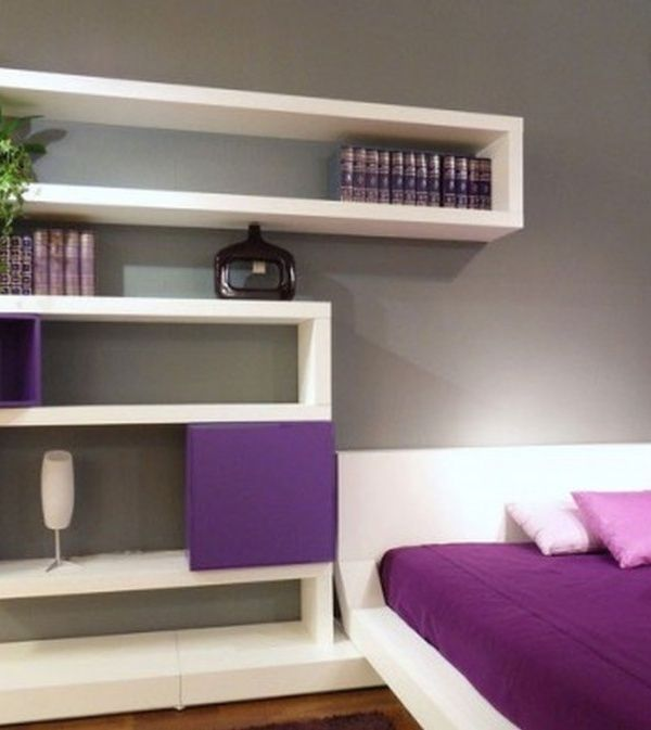 modern bedroom shelves 17 best ideas about floating shelves bedroom on 12511
