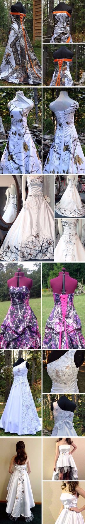 """Choosing a Camo Wedding Dress"""