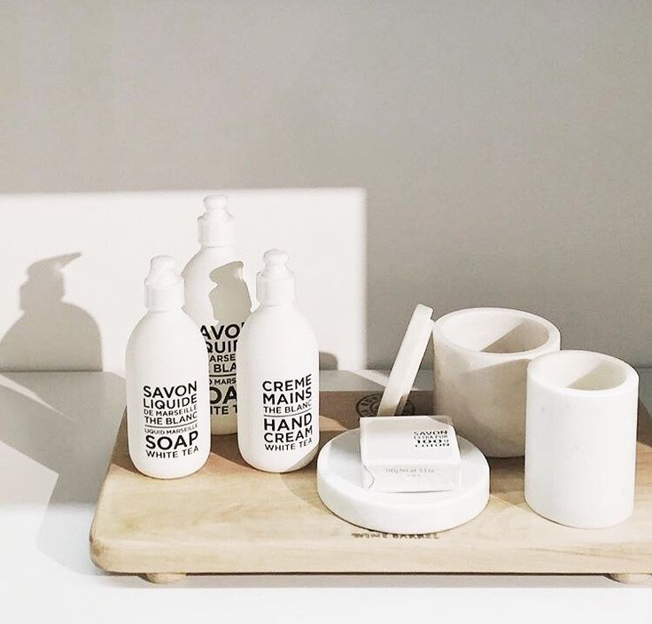 BLACK&WHITE toiletries by Compagnie de Provence pic Cittadesign