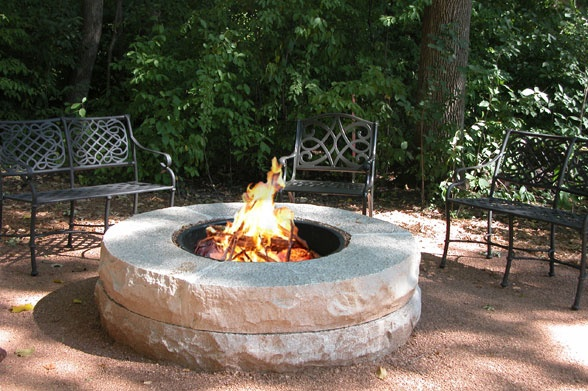 This DIY fire pit goes perfectly with a cup of hot cocoa >> http://blog.hgtvgardens.com/quick-and-dirty-diy-fire-pits-are-seriously-smokin-pots/?soc=pinterest