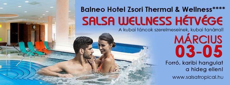 Salsa Wellness hétvége! Március 03-05. (2 éjszaka) http://salsatropical.hu/05_salsa_hetvege.html