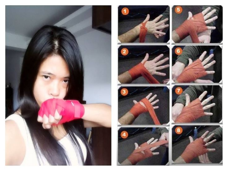 Hand Wrap ---> Boxing