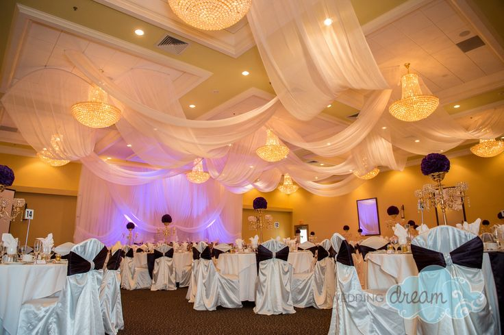 Ceiling panels at st. geroge banquet hall