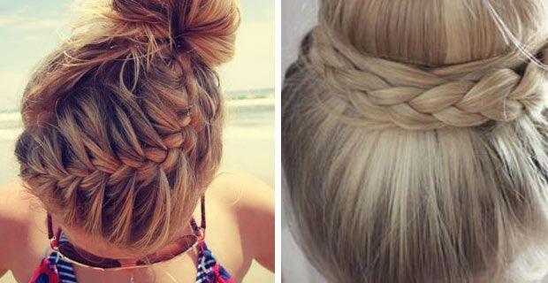 FOTOS: Flechtfrisuren für mittellange Haare selber machen - die schönsten Ideen …