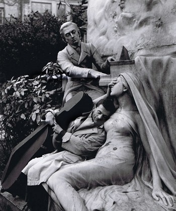 Maurice Baquet, Chopin and his Muse by Robert Doisneau