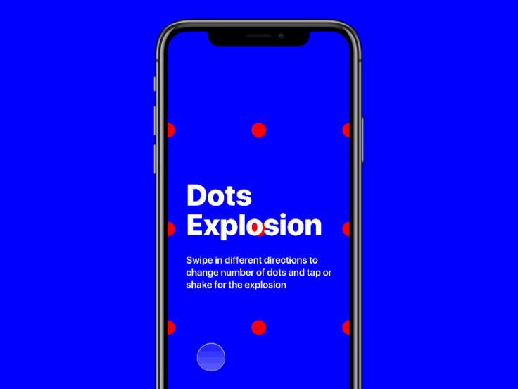 Dots Explosion by Ro