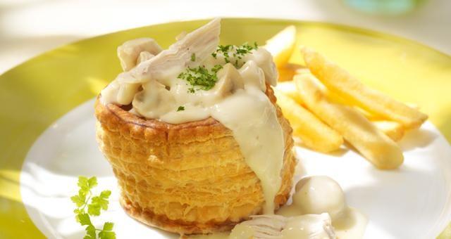 Vol Au Vent Recipe! Must try! #Vol_Au_Vent #Recipe #Chicken #Dinner